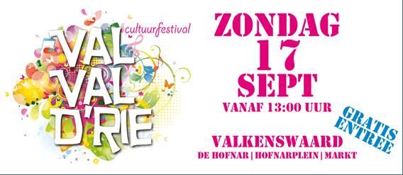 Optredens Val-Val-Drie 17 september 2017