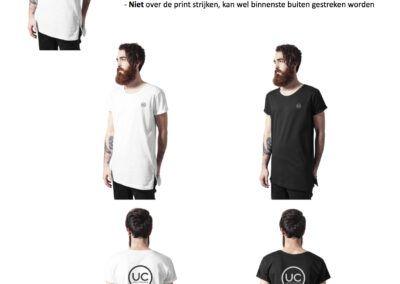 Heren Shirts Rits Zijkant