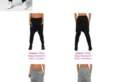 Dames Sweatpants Baggy