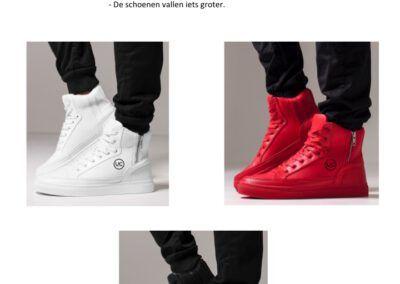 Dames/Heren Sneakers Hoog