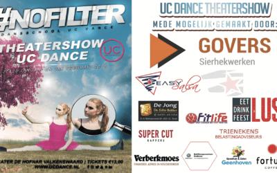 UC Dance – Sponsorpresentatie Theatershow #NOFILTER 2018