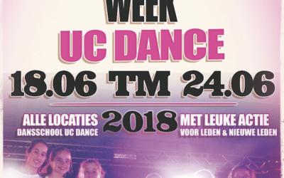 18 juni t/m 24 juni – UC Dance Vriend & Vriendinnenweek 2018