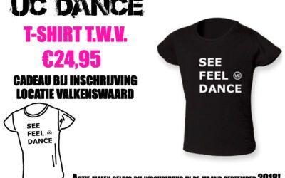 1 september – UC Dance gestart met danslessen bij 040Fit Valkenswaard