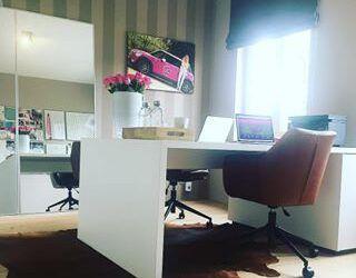 Dinsdag kantoordag en ons nieuwe kantoor