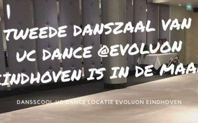 2e danszaal van UC Dance in Evoluon Eindhoven
