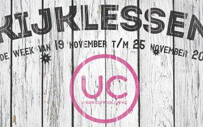 19 november – Kijklessen bij UC Dance