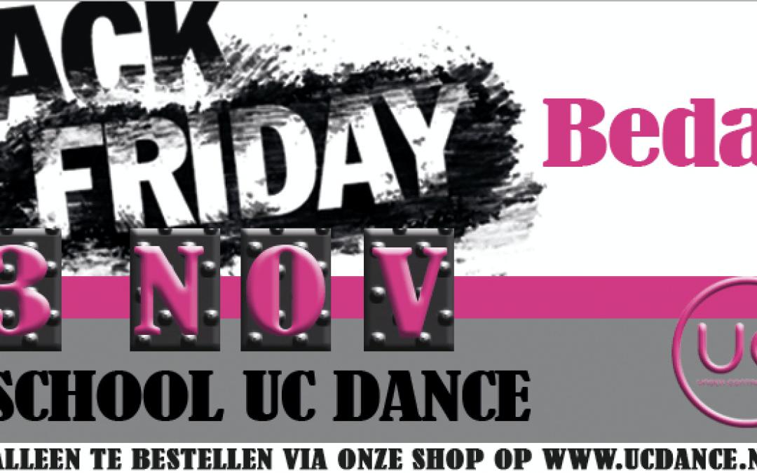 Black Friday actie bestellingen een succes!