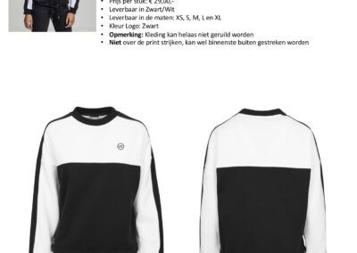 Dames Sweater Stripe