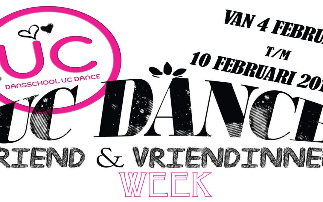 4 februari – UC Dance Vriend & Vriendinnen week 2019
