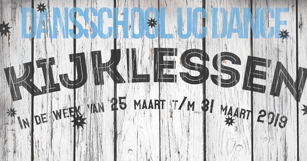 25 maart – Kijklessen op alle locaties