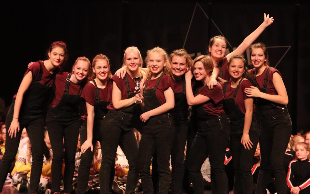 UCDC 5e plaats behaald bij danswedstrijd Wageningen