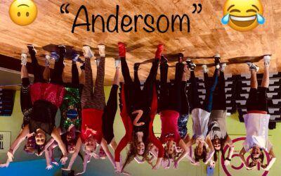 Carnavalsweek bij UC Dance thema 'Andersomweek'