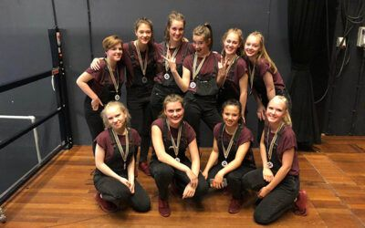 UCDC 8e geworden tijdens The Finals van Shell We Dance