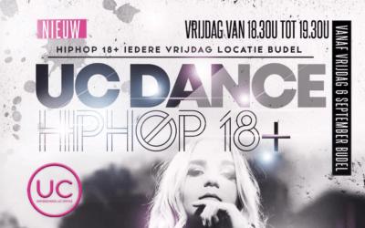 6 september – start NIEUWE Hiphop 18+ les op vrijdag in Budel