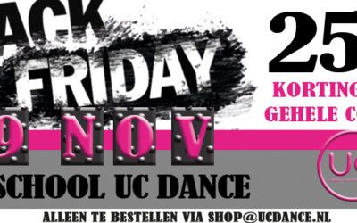 29 november – Black Friday 'shop met korting'