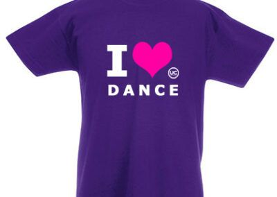 Kids T-Shirt – I Love Dance