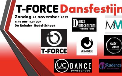 24 november – Optreden dansmiddag T-Force Budel-Schoot