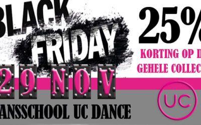 Black Friday actie een succes!