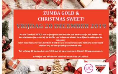 20 December – Zumba Gold & Christmas Sweet Geldrop