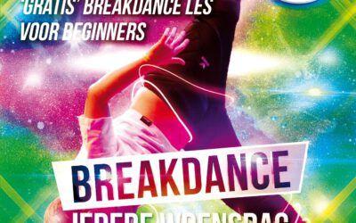 ‼ACTIE‼ Doe gratis mee met de beginners Breakdance les Eindhoven