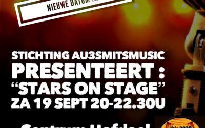 19 september – Optreden STARS ON STAGE de Hofdael Geldrop