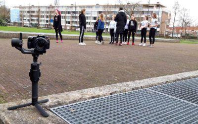 "Videoclip edit 'In Motion"" met dansers van UC Dance"
