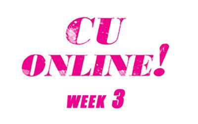 CU-Online week 3