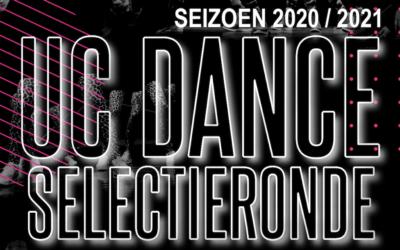Aanmeldingen selectieteams UC Dance seizoen 2020/2021
