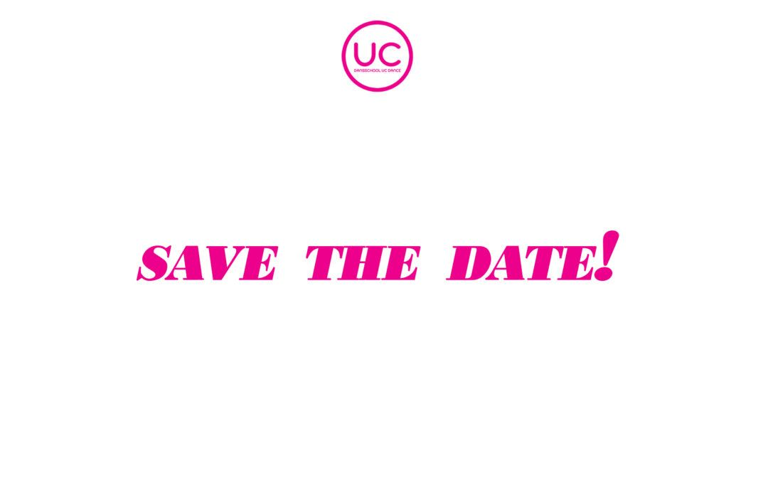 29 & 30 augustus – SAVE THIS DATE voor gave 'Workshops' @UC Dance