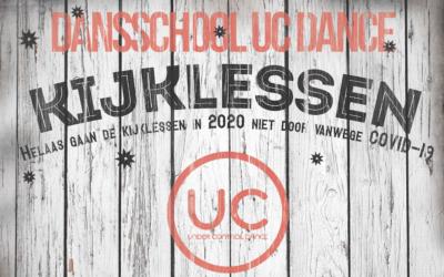 UC Dance Kijklessen 2020 gaan niet door