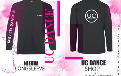 """Nieuw in onze shop """"UC Dance Longsleeve"""""""