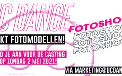 UC Dance zoekt fotomodellen voor merchandise