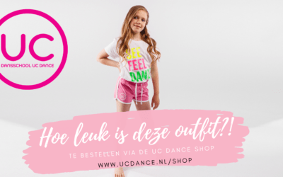 Zomerse UC Dance outfit in de UC-Shop