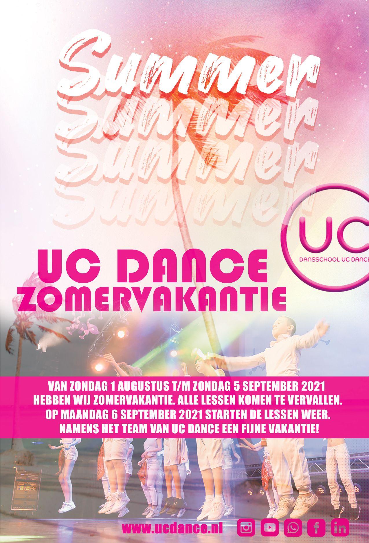 Zomervakantie 2021 UC Dance